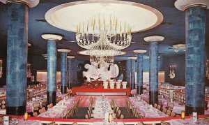 NEW ORLEANS, Louisiana, 1950-1960s ; The Blue Room, The Roosevelt