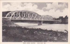 Deep Creek Bridge Oakland Maryland Albertype
