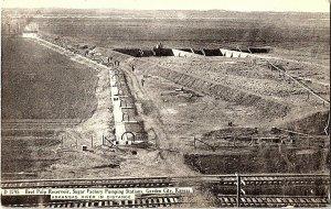 Beet Pulp Reservoir Garden City Kansas Vintage Postcard Standard View Card