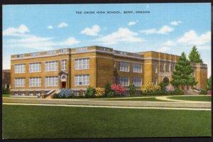 Oregon BEND The Union High School - LINEN