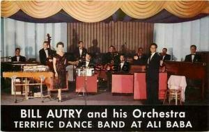 CA, Oakland, California, Advertising, Bill Autry and His Orchestra, Ali Baba