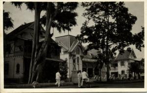 indonesia, JAVA BANDUNG, Hotel Homann (1930s) RPPC Postcard