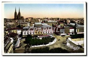 Old Postcard Clermont Ferrand Jaude square