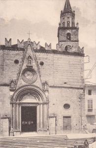 Teramo , Abruzzo,  Italy , 1900-10s : Facciata della Cattedrale