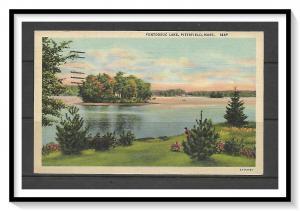 Massachusetts, Pittsfield - Pontoosuc Lake- [MA-442]