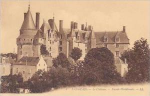 France Langeais Le Chateau Facade Meridionale