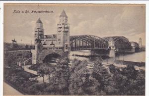 Germany Koeln Hohenzollernbruecke