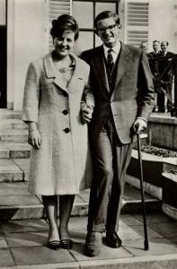 netherlands, Princess Margriet & Pieter van Vollenhoven (1965) RPPC