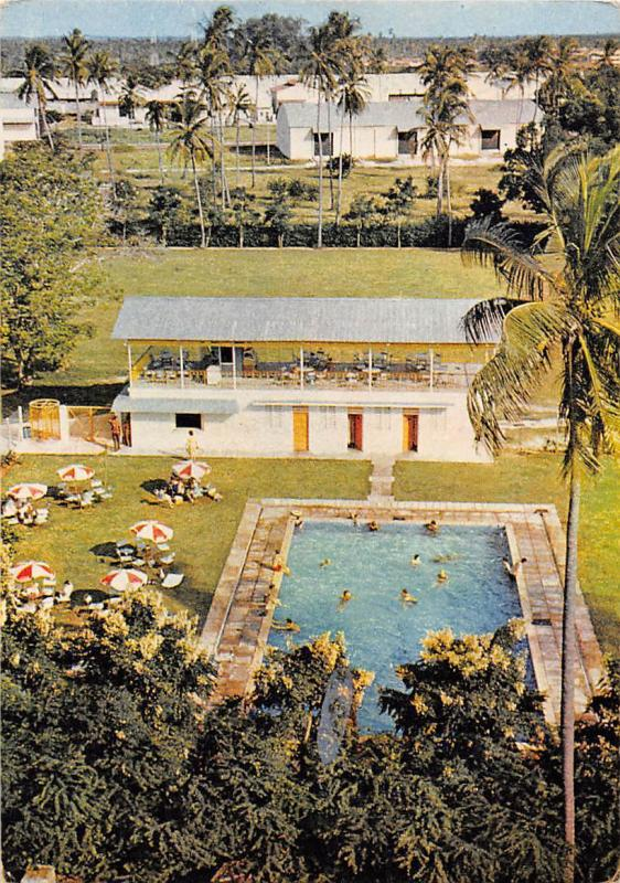 Tanzania dar es salaam the missions to seamen flying angel club swimming pool hippostcard for Swimming pools in dar es salaam