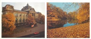 Postcard Riga Latvia state museum of arts