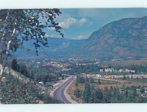 Pre-1980 AERIAL VIEW Kinnaird & Castlegar - Near Nelson & Pentincton BC F8616