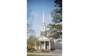 The Presbyterian Church of Madison New Jersey Postcard