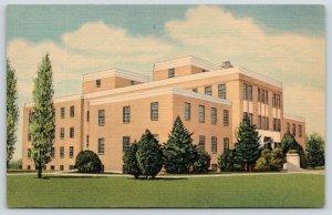 Clovis New Mexico~Memorial Hospital~Art Deco Architecture~1952 Linen Postcard