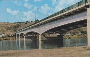 Bridge at Kamloops, across the Thompson River,  Kamloops,  B.C.,  Canada,  40...