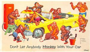 Monkey with your Car, Lawson Wood Unused