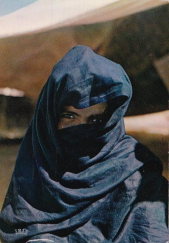 Mauritania Native Woman In Traditional Costume
