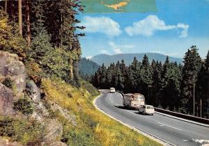 Schwarzwald Hochstrasse Auto Vintage Cars Road Forest