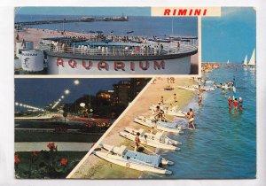 Italy, Italia, RIMINI, Aquarium, used Postcard