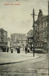 C-1910 Orford Place Norwich UK Trolley postcard 7161