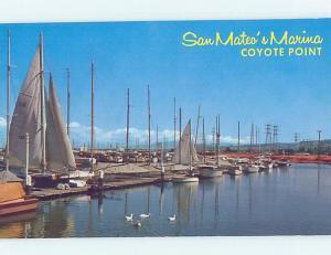 Pre-1980 HARBOR SCENE San Mateo California CA hp7253