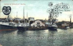 Seattle, Washington, WA USA Sail Boat Postcard Post Card  Seattle, Washington...