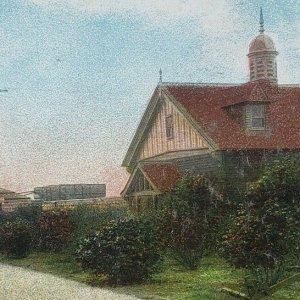 South Boston Massachusetts L Street View Bathhouse Curley Community Postcard F27