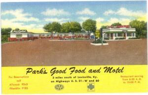 Linen of Park's Good Food & Motel Louisville Kentucky KY