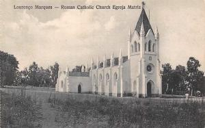Mozambique Maputo, Lourenco Marques - Roman Catholic Church Egreja Matriz