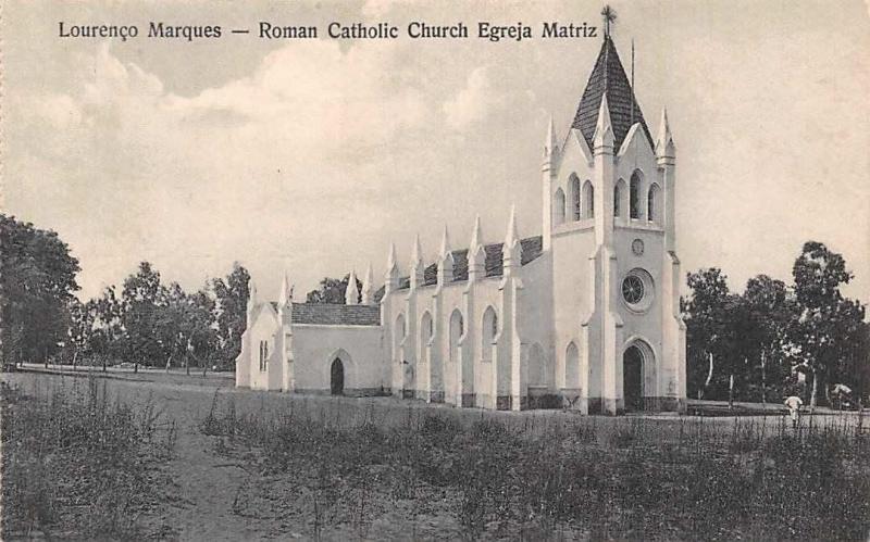 Mozambique Maputo, Lourenco Marques - Roman Catholic Church Egreja Matriz