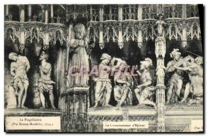 Old Postcard The Couronneaent of Thorns Chartres