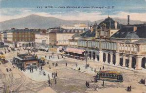 Place Massena Et Casino Municipal, Nice (Alpes Maritimes), France, 1900-1910s