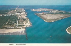 Aerial , Port Canaveral , Florida , 50-70s ; Space Launch Pads