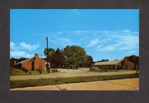 VA Capitol Motel Landing Rd Williamsburg Virginia Postcard R B Keene