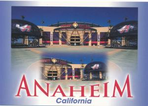 Edison Baseball Stadium at Anaheim CA, California - Home Anaheim Angels