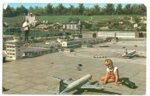 Holland, Netherlands, Madurodam, Airport, 1961 used Postcard