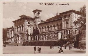 RP, L'Universite, Lausanne, Switzerland, 1920-1940s