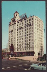 The Wilton Hotel,Long Beach,CA Postcard BIN