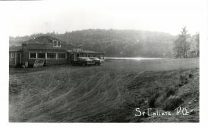 canada, Saint-Calixte, Quebec, Road Restaurant (?) (1950s) RPPC Postcard