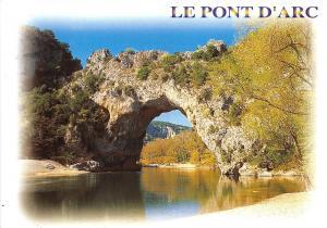 B51049 Le Pont d'Arc arche naturelle   france