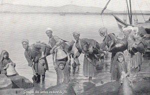 Groupe des Sakas au Bord du Nil , EGYPT , 00-10s