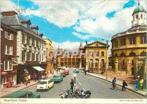 Modern Postcard Broad Street Oxford