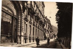 CPA Le MONT-DORE - Rue Meynadier - MONT-DORE Palace (220376)