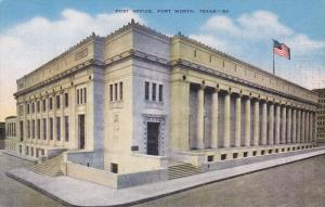Post Office , FORT WORTH , Texas , 30-40s