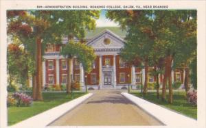 Administration Building Roanoke College Salem Virginia