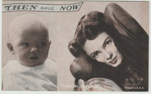 Then and now Kathryn Grayson Postcard