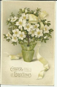 Easter Greetings ---White Ribbon