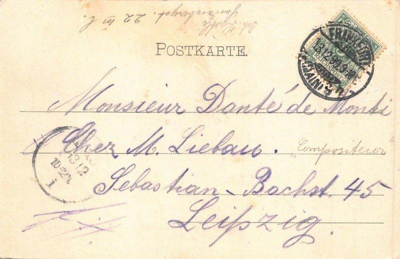 Ghana Gold Coast Ashanti Village native's life 1899 Postcard