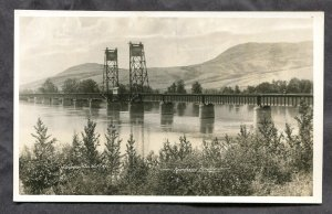 4878 - Canada KAMLOOPS BC Bridge 1930s Real Photo Postcard by Gowen Sutton