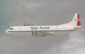 Fred Olsens Lockheed L-188AF Electra