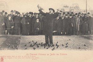 PARIS, France, 1900-10s; Bird Man ; #2